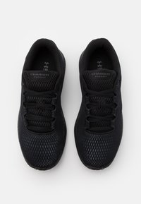 Under Armour - CHARGED PURSUIT 2 - Neutral running shoes - black - 3