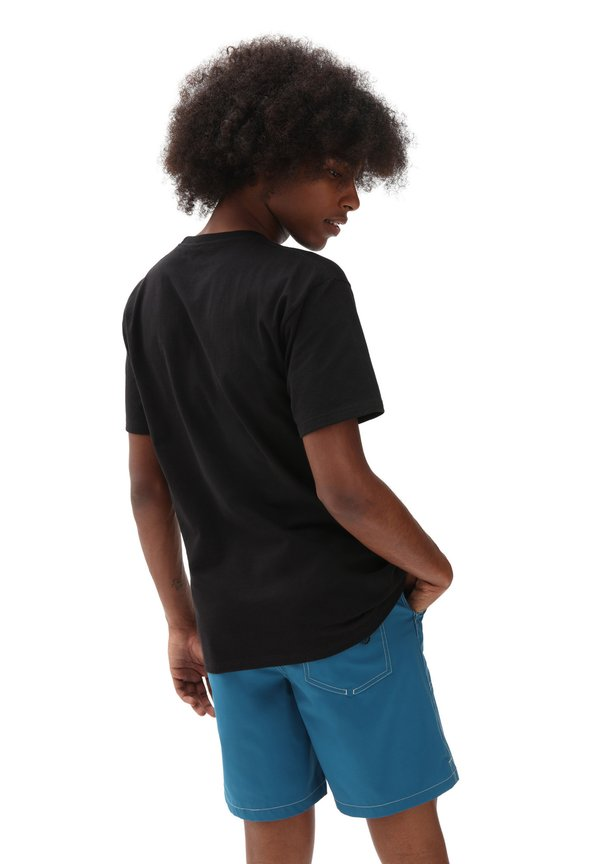 Vans T-shirt z nadrukiem - black/spectrum tie dye/czarny Odzież Męska JQNE