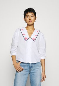 Trendyol - Blouse - white - 0