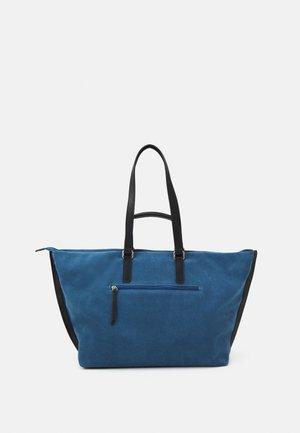 MOTALA - Tote bag - blue denim