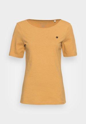 SHORT SLEEVE ROUND NECK - T-shirt basique - sweet corn
