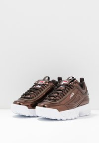Fila - DISRUPTOR  - Trainers - chocolate brown - 4