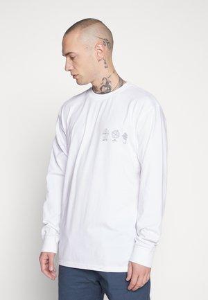 DOVE BACK - T-shirt à manches longues - white