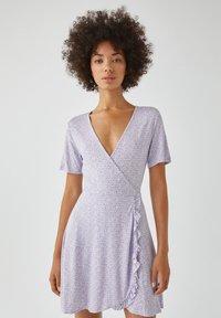 PULL&BEAR - Day dress - purple - 0