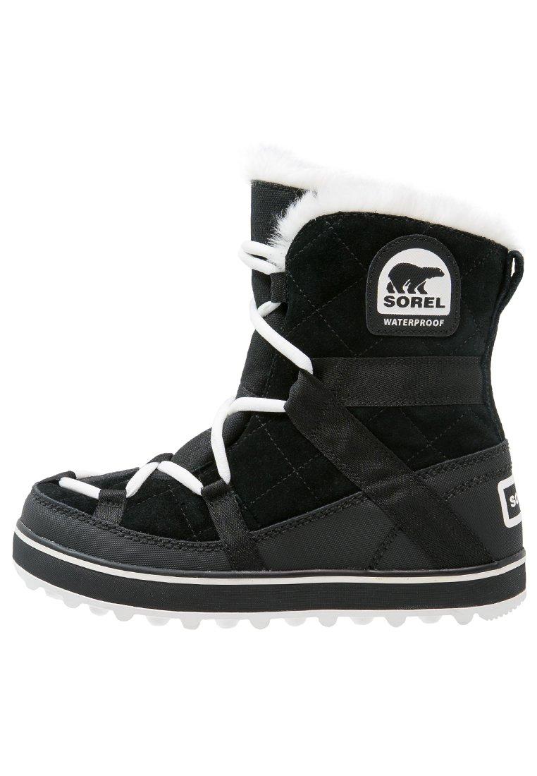 GLACY EXPLORER SHORTIE Vinterstøvler black