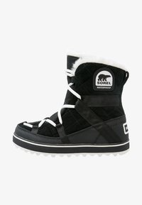 Sorel - GLACY EXPLORER SHORTIE - Winter boots - black - 0