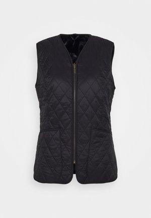 HORNBEAM LINER - Waistcoat - black