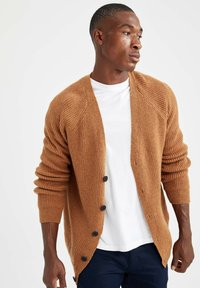 DeFacto - RELAX FIT - Cardigan - yellow - 0