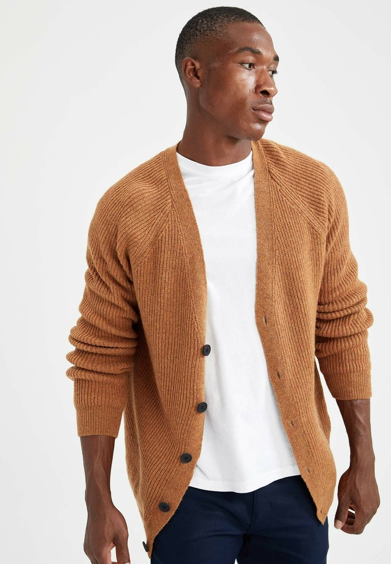 DeFacto - RELAX FIT - Cardigan - yellow