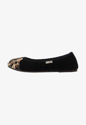 KATZENGESICHT  - Slippers - schwarz