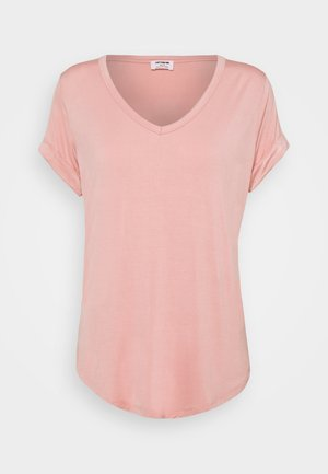 KARLY SHORT SLEEVE - T-shirt basique - rose tan