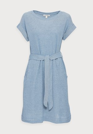 STRUC TAPE DRESS - Day dress - bright blue