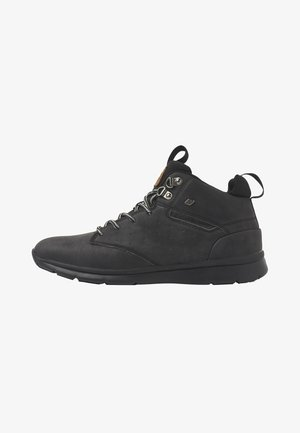 EVEREST - Sneakers high - black/dk grey/black