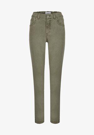 TAMA - Straight leg jeans - khaki