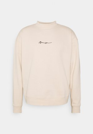ESSENTIAL SIGNATURE HIGH NECK UNISEX  - Felpa - sand