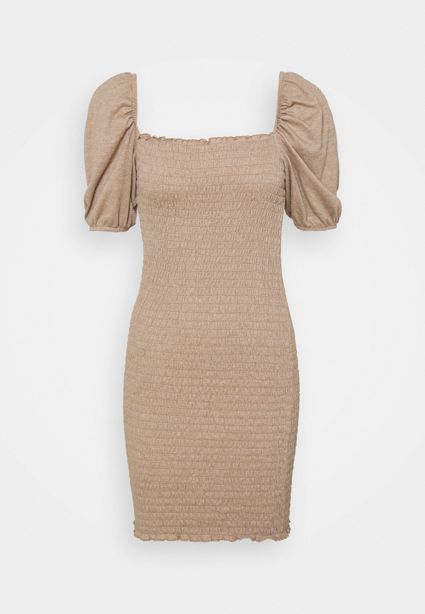 Women ONLNALENA SMOCK DRESS - Jersey dress