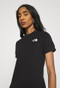 The North Face - TEE DRESS - Jerseykjole - black - 3