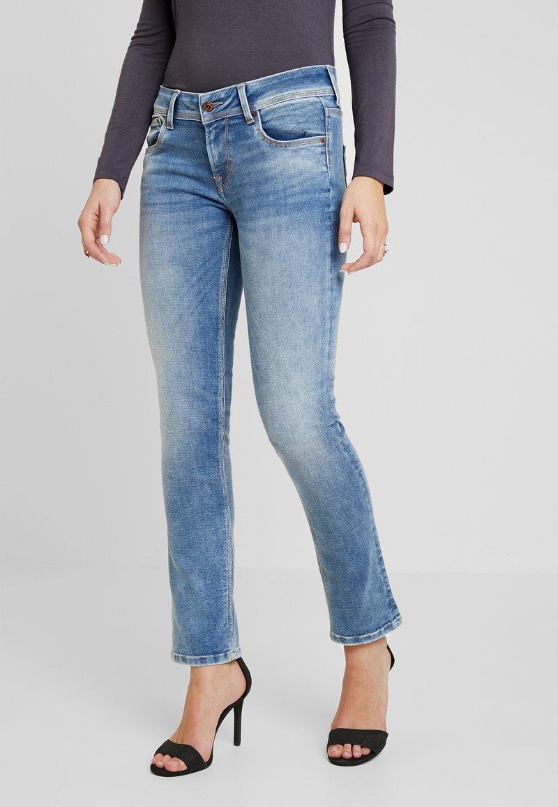Pepe Jeans - SATURN - Straight leg jeans - denim light used