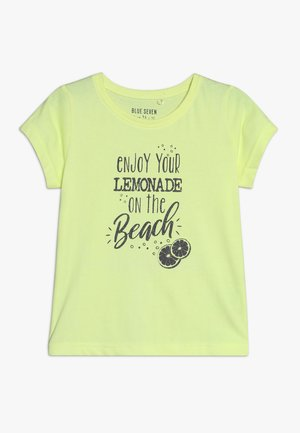 Camiseta estampada - neon lemon