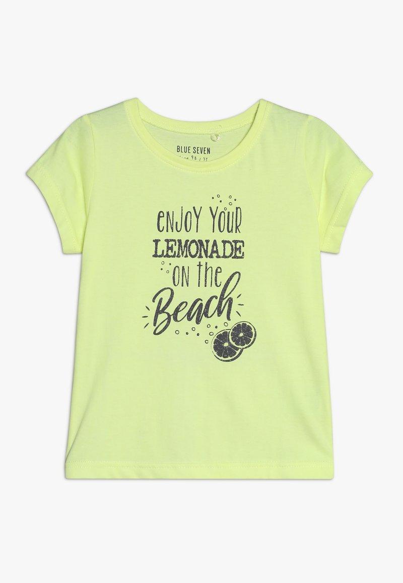 Blue Seven - Camiseta estampada - neon lemon