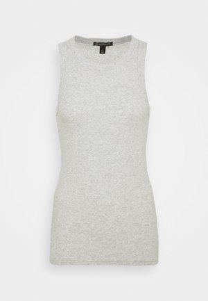 CUTAWAY TANK - Top - heather grey