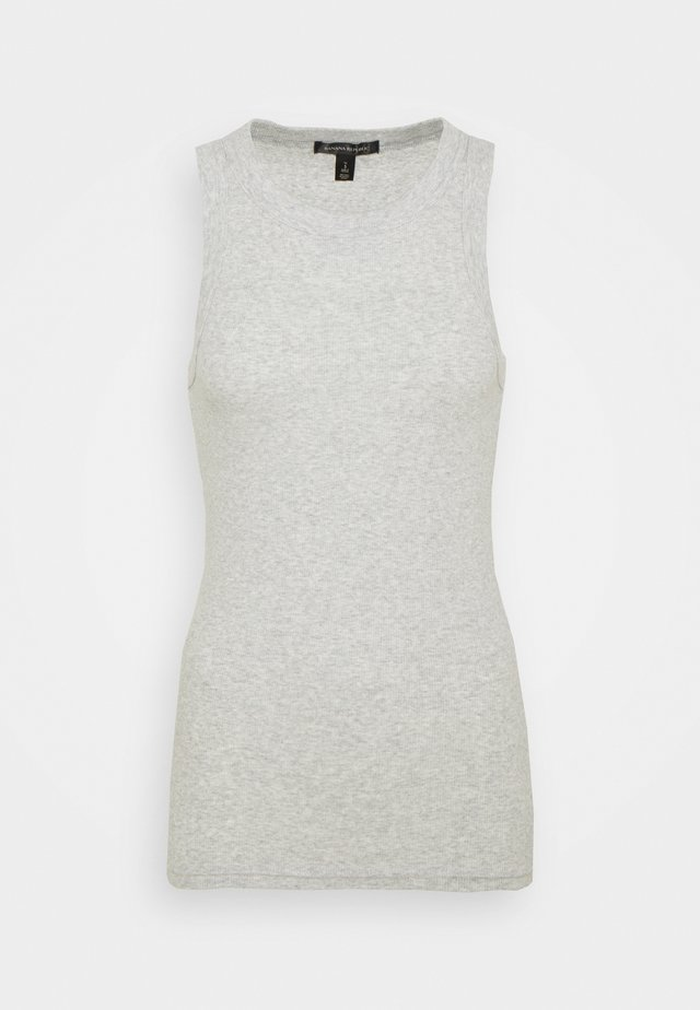 CUTAWAY TANK - Top - heather grey