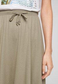 s.Oliver - A-line skirt - summer khaki - 3