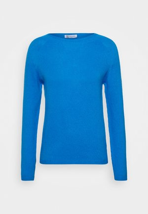 SPORTY CREW - Sweter - china blue