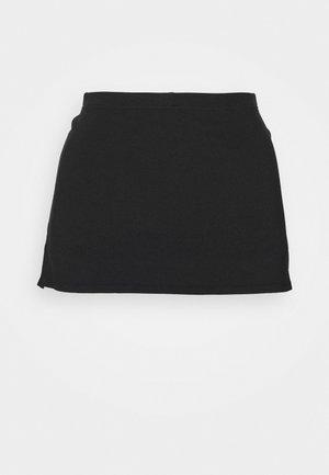 SKIRT BUILT IN SHORT - Sportovní sukně - black
