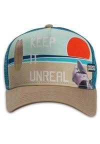 Coastal - COASTAL KOPFBEDECKUNG TRUCKER CAP HFT UNREAL - Cap - khaki - 1