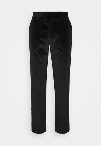 SLIM FIT TROUSER - Pantalon classique - black