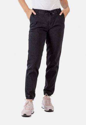 REFLEX WOMEN - Slim fit jeans - black wash denim