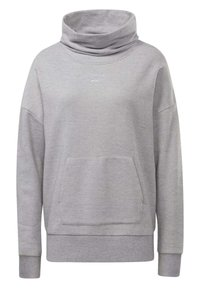 Reebok - TRAINING ESSENTIALS COVER-UP - Sweatshirt - grey - 2