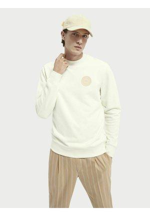 Sweatshirt - denim white