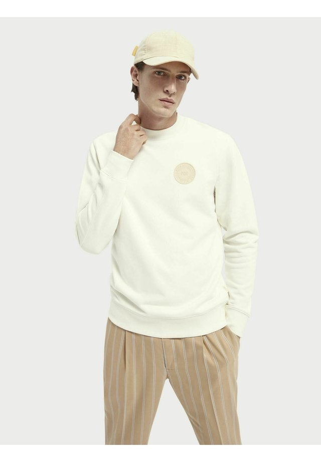 Sweatshirt - denim white