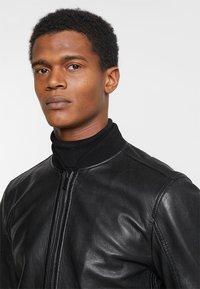 Strellson - CAMDEN - Leather jacket - black - 3