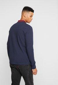 Burton Menswear London - POP COLLAR - Piké - navy - 2
