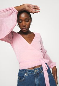Résumé - CORINNE - Top sdlouhým rukávem - pastel pink - 3