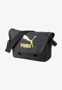 Puma - Across body bag - puma black-gold - 0