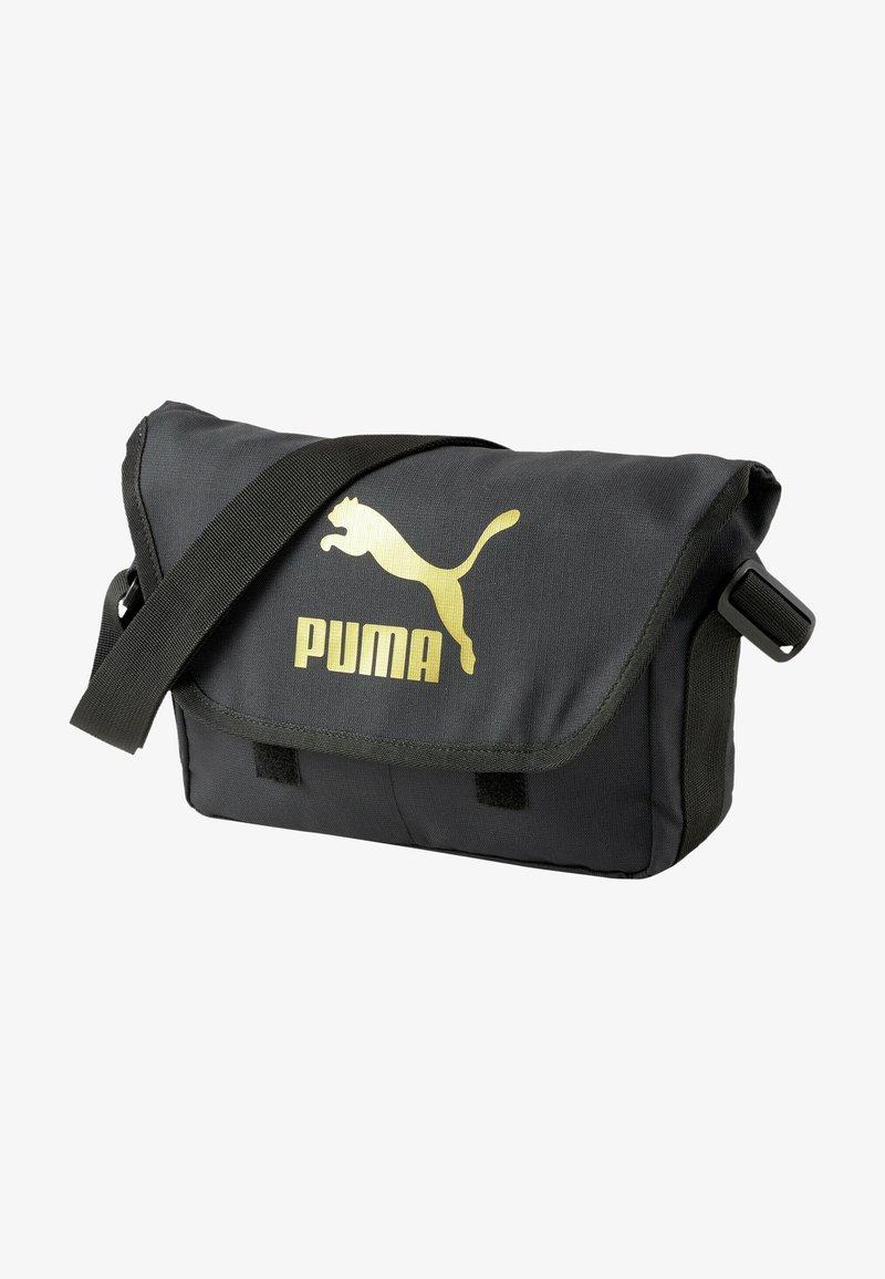 Puma - Across body bag - puma black-gold
