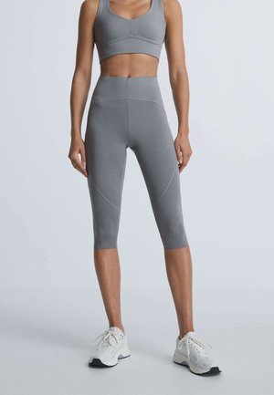 3/4 sports trousers - grey