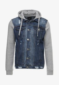 Brave Soul - Denim jacket - blue denim/grey - 4