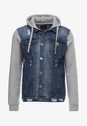Jeansjacke - blue denim/grey
