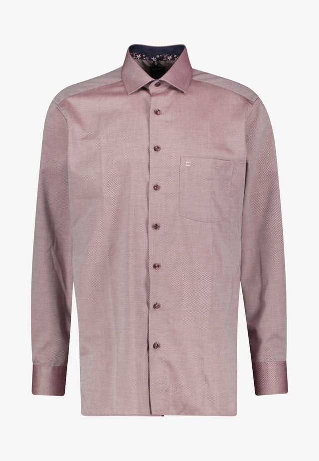 LONG SLEEVE - Overhemd - bordeaux