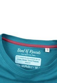 Band of Rascals - YOUR OWN WAVE - Print T-shirt - petrol - 2
