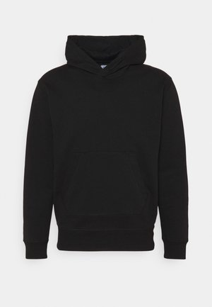 HOODED - Sweatshirt - black