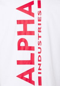 Alpha Industries - Print T-shirt - white/red - 6