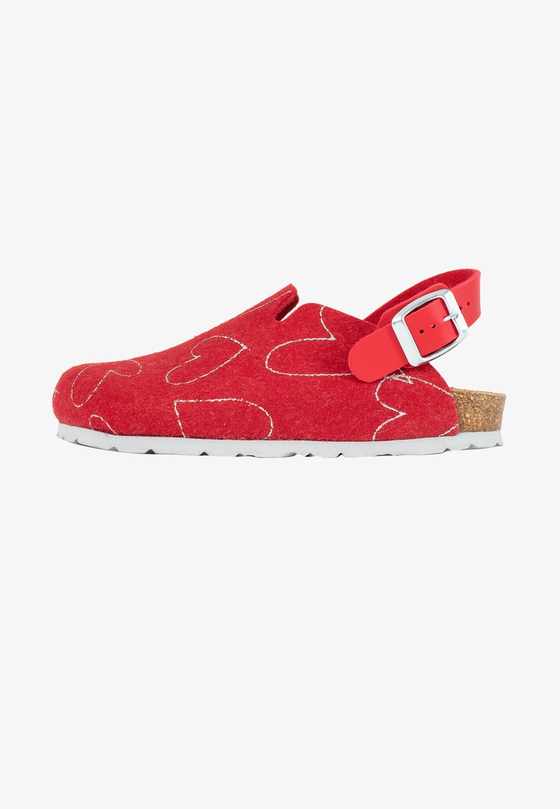 BAYTON - NOMA  - Slippers - ruby red