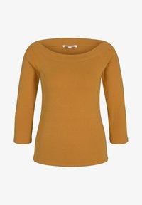 TOM TAILOR DENIM - CARMEN - Long sleeved top - orange yellow - 5
