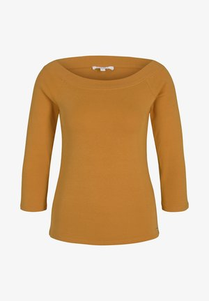 CARMEN - Long sleeved top - orange yellow